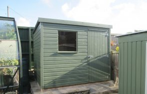 Small Pent Garden Shed