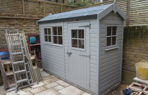 Attractive Small Garden Shed
