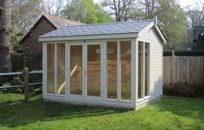 Traditional Timber Garden Studio