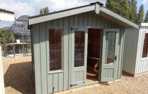 Ickworth NT Summerhouse Burford Terrace Green