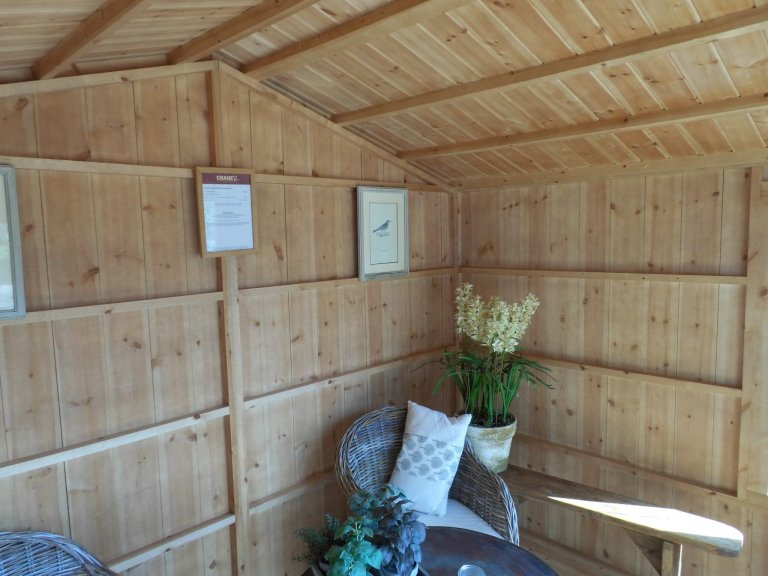 Ickworth NT Summerhouse Burford Terrace Green