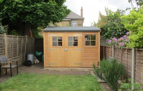 Timber Garden Shed with Double Glazing
