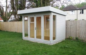 2.4 x 3.0m Salthouse Garden Studio with Electric Pack