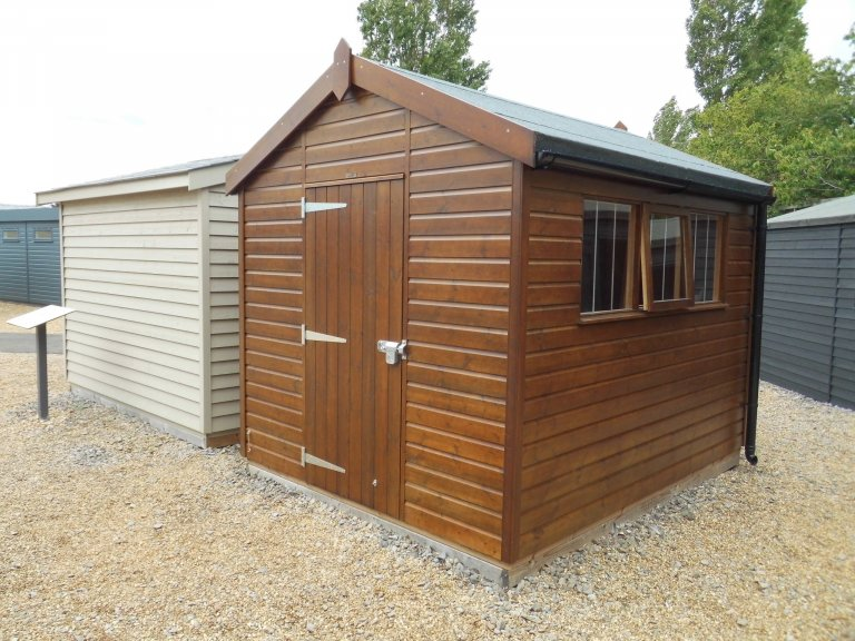 Superior Shed Walnut Burford