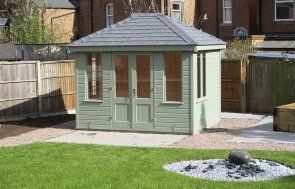Cley Summerhouse with Slate Roof