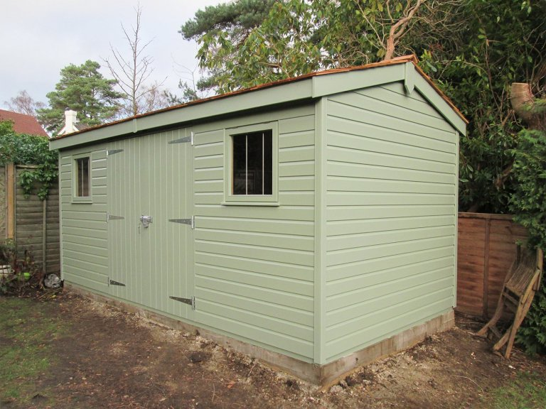 High-Quality Garden Shed with Security Pack