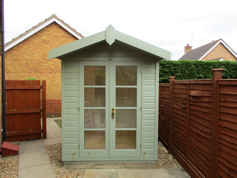 Bespoke Blakeney Summerhouse in Lizard Paint