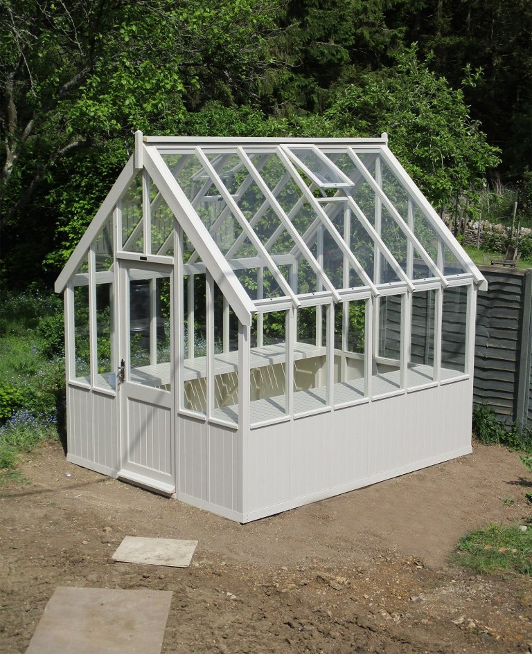 Traditional Greenhouse in Sandstone Paint