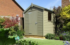 Luxury Garden Shed in Stone Paint