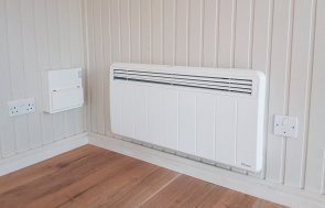 New thermostatic heater for Garden Rooms and Summerhouses