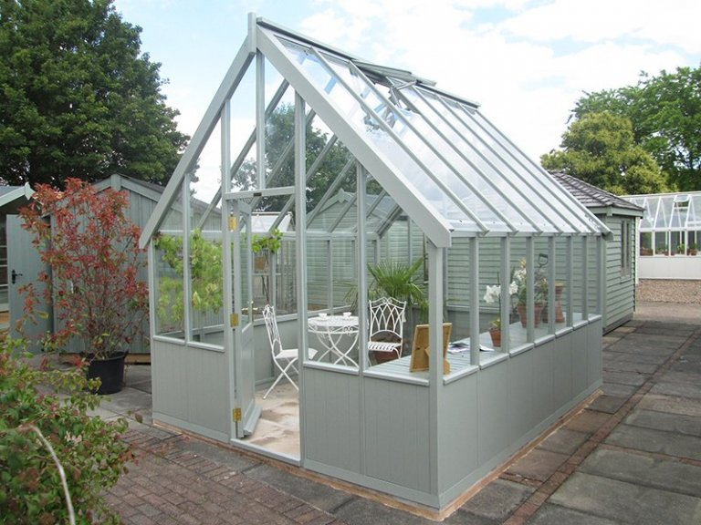 3.0 x 3.6m Greenhouse at our Nottingham Show Site