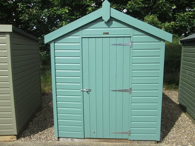 1.8 x 2.4m Classic Shed at our Nottingham Show Site
