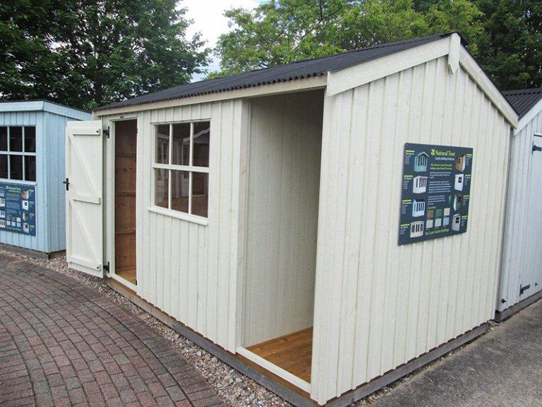 National Trust Blickling Garden Shed - 2.4m x 3.6m (8ft x 12ft)