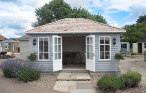 The new Garden Room at our Nottingham Show Site in Nottinghamshire