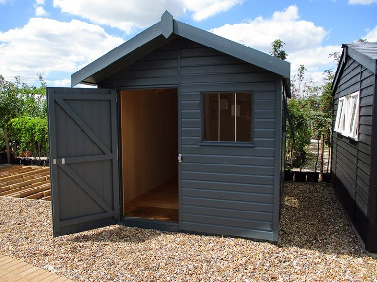 2.4 x 3.6m Superior Shed at our Brighton Show Site