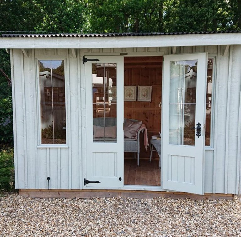 1.8 x 3.0m Flatford National Trust Summerhouse at our Newbury Show Site