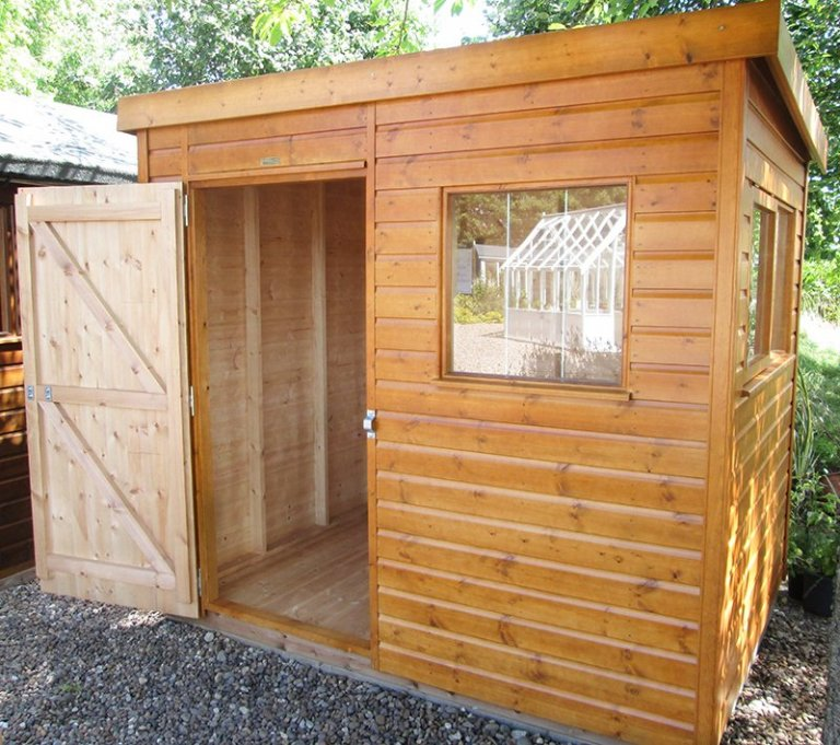 Superior Shed - 1.8m x 2.4m (6ft x 8ft)