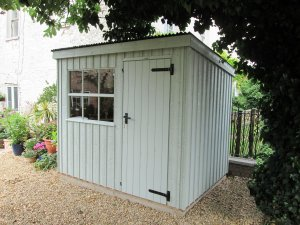 National Trust Oxburgh Garden Shed in Disraeli Green