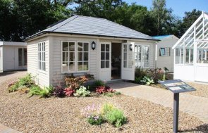 4.2 x 6.0m Garden Room at our Cranleigh Show Site, part of 2019 award-winning Chelsea Flower Show display