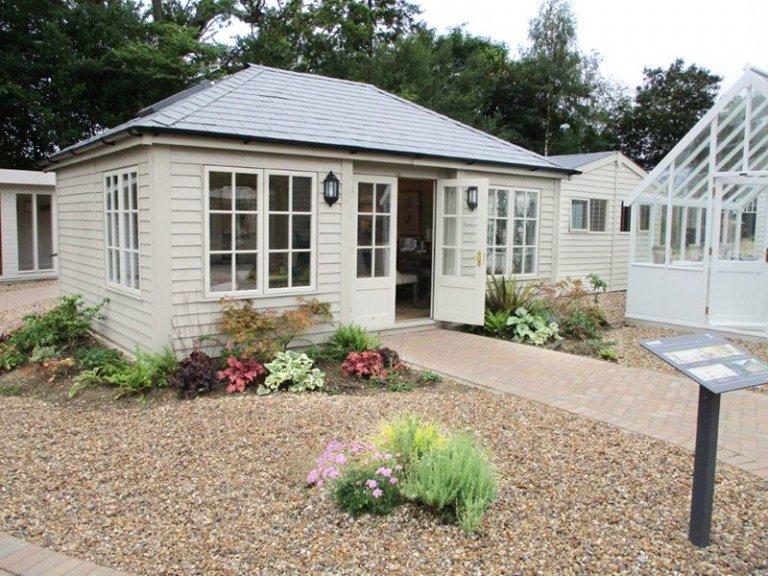 4.2 x 6.0m Garden Room at our Cranleigh Show Site