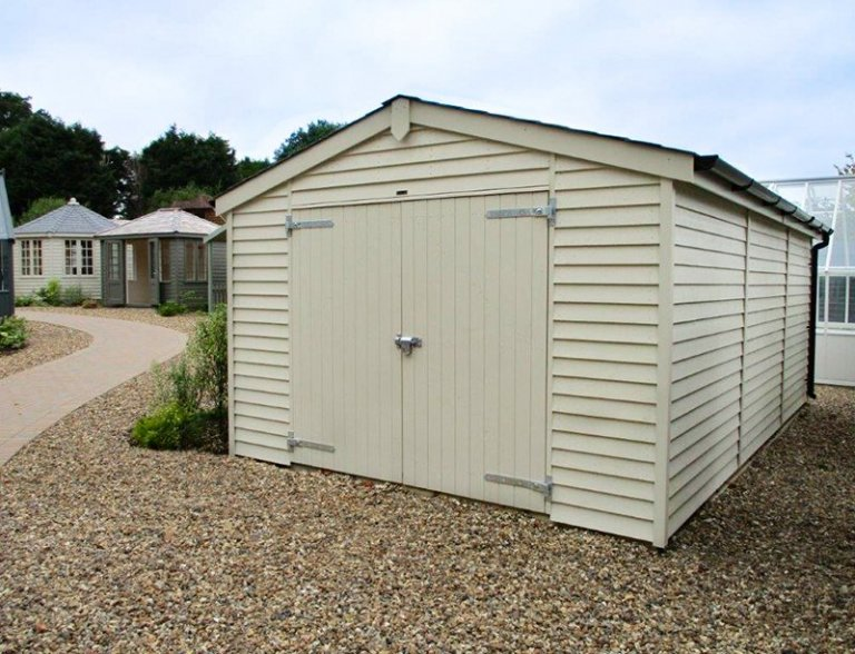 3.6 x 3.0m Garage at our Cranleigh Show Site