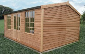 3.6 x 4.8m hand-made Holkham Summerhouse in Light Oak in Hawick, Dumfries