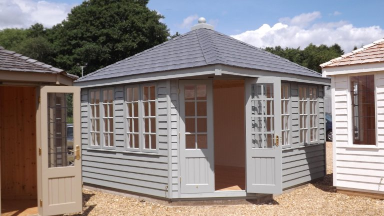 Weybourne Summerhouse - 3.6m x 3.6m (12ft x 12ft)