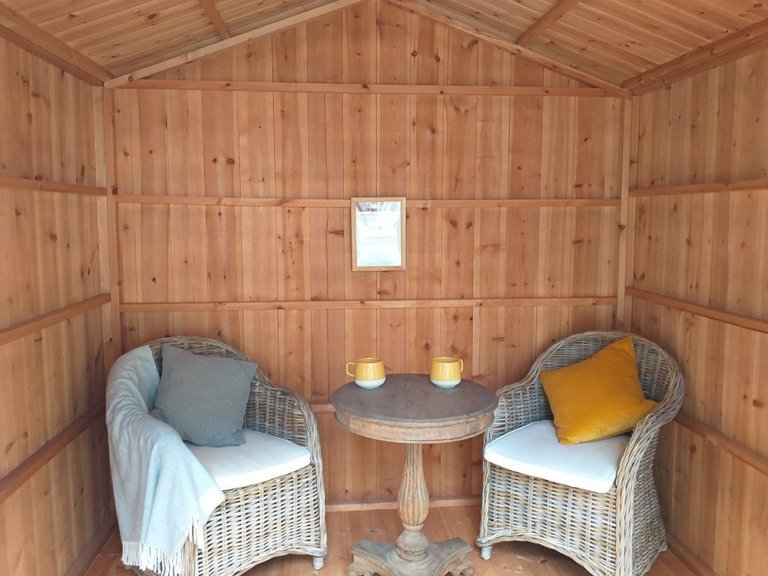 National Trust Ickworth Summerhouse - 2.4m x 2.4m (8ft x 8ft)