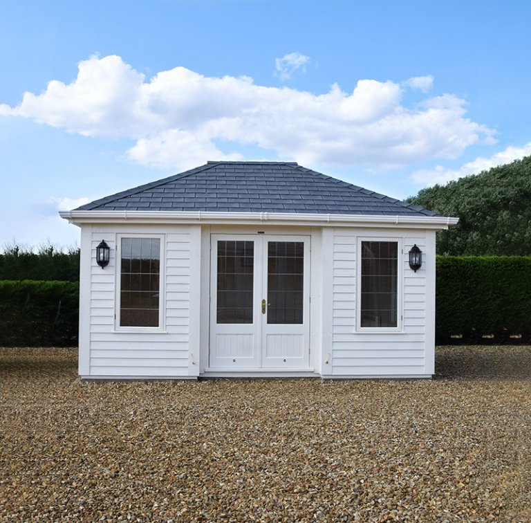 3.6 x 4.8m Garden Room at our Narford HQ