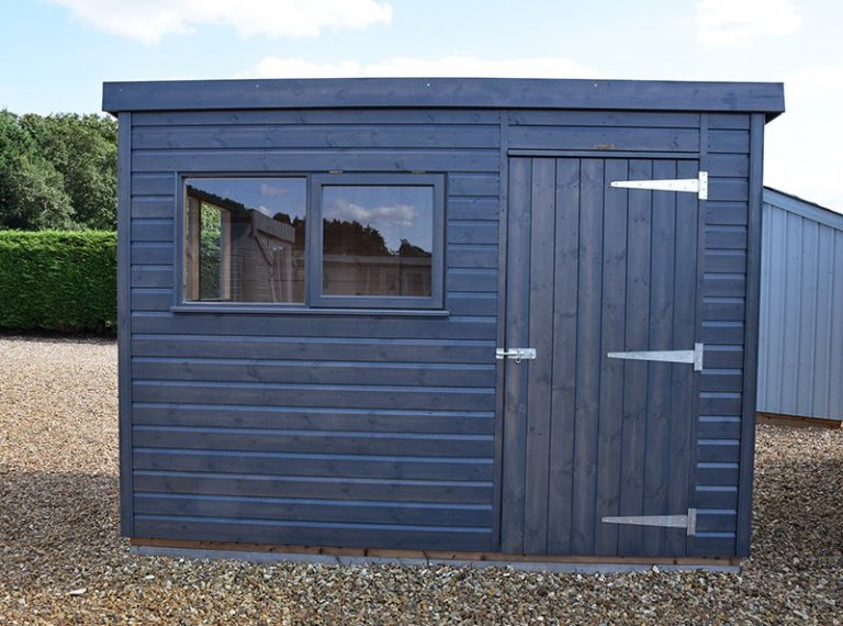 1.8 x 3.0m Superior Shed at our Narford HQ