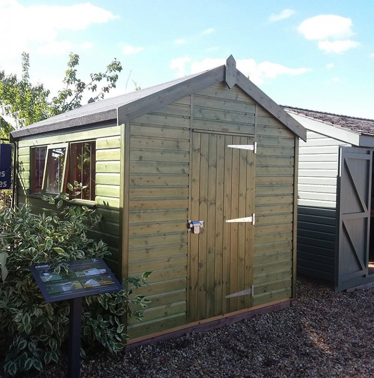 2.4 x 3.0m Superior Shed at Brighton