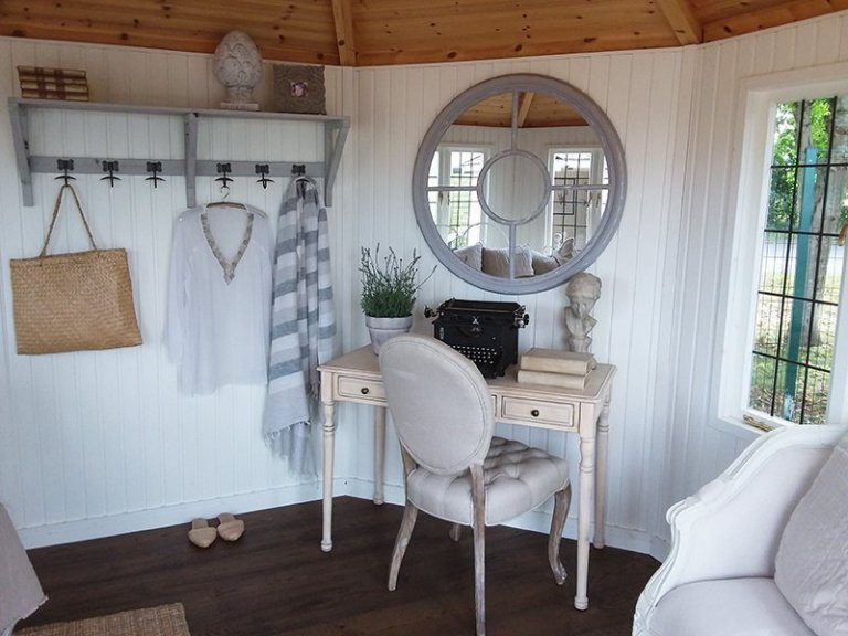 Furniture Inside the Cream 3.6 x 3.6m Wiveton at Brighton