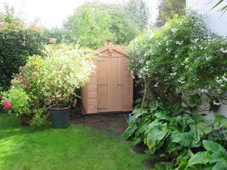 5 x 7ft Classic Shed with Apex Roof