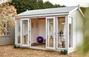 Burnham Studio as a fully lined and insulated Home Gym