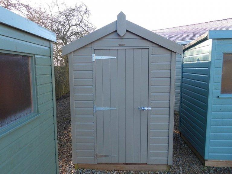 Burford January 2020 Classic Shed 1.5 x 2.1m in Stone