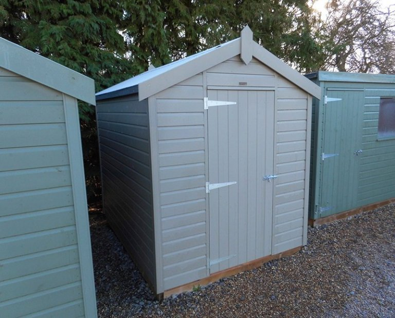 Burford January 2020 Classic Shed 1.8 x 2.4m Stone