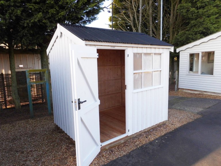 Burford Felbrigg National Trust Shed 1.8 x 2.4m with open door