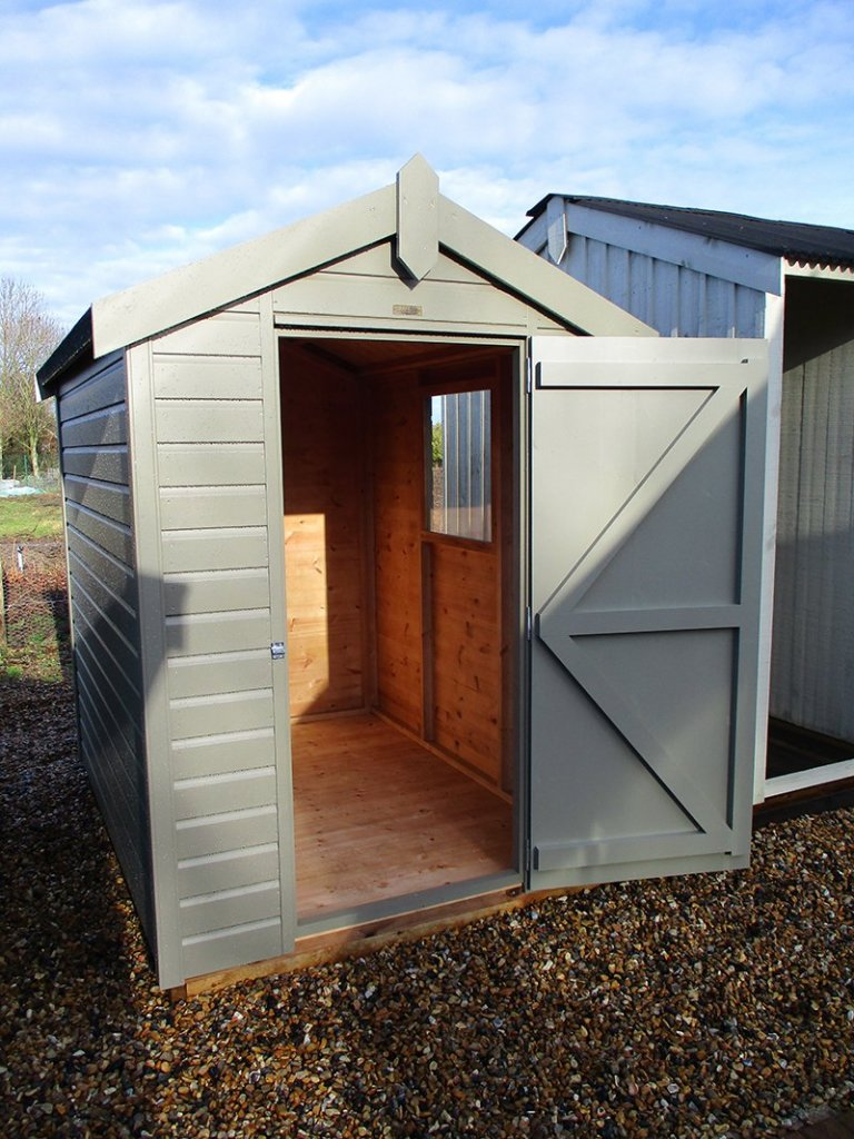 Brighton Classic Shed 1.5 x 2.1m with open door