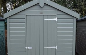 St Albans 1.8 x 2.4m Classic Shed in Moss
