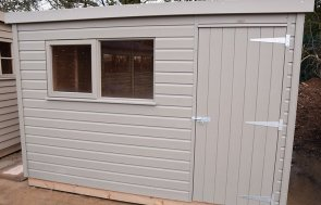 St Albans 1.8 x 3.0m Classic Shed in Stone