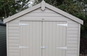 St Albans 2.4 x 3.0m Classic Shed in Stone