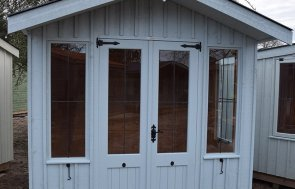 St Albans 2.4 x 2.4m Ickworth Summerhouse in Painters Grey