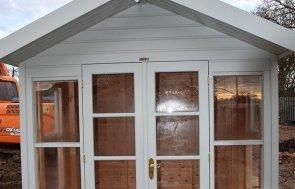 2_4 x 2_4 Blakeney Summerhouse At St Albans in Verdigris