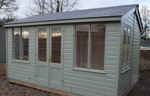 3.0 x 4.2m Holkham Summerhouse at St Albans in Lizard