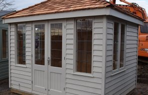 St Albans 2.4 x 3.0m Cley Summerhouse in Twine