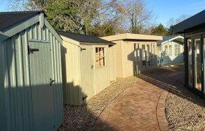 National Trust Sheds, Salthouses and Morston Summerhouses at St Albans Show Site