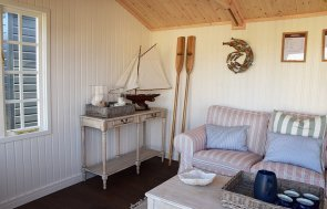 Inside the Narford 3.0m x 4.2m Holkham Summerhouse in Ash