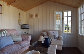 Interior of the Narford 3.0m x 4.2m Holkham Summerhouse in Ash