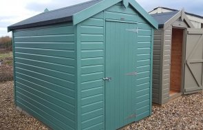Brighton Classic Shed 1.8 x 2.4m in Mint