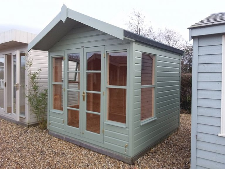 Side view of the Brighton 2.4 x 2.4m Blakeney Summerhouse